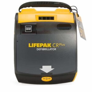 CPR Plus sells top brand defibrillators like the Physio-Control LIFEPAK CR Plus